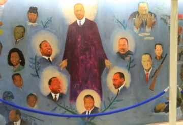 IN THE CHURCH OF DR. MARTIN LUTHER KING, JR.: A REVIVAL OF SPIRIT